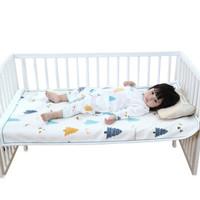 贝谷贝谷 婴儿亚麻冰丝凉席 (110*65cm、小颜值款)