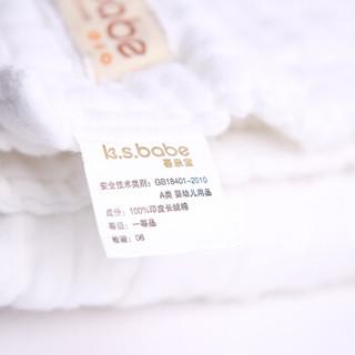 喜亲宝 婴儿纱布浴巾 (115*115cm)