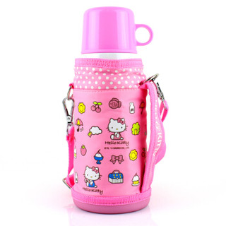 Hello Kitty 凯蒂猫 婴儿童保温水杯  600ML 白色