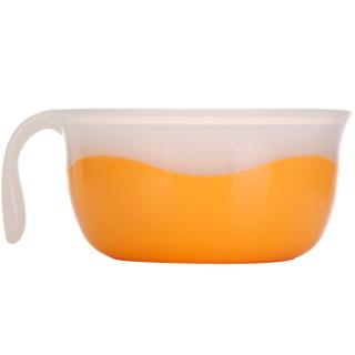 pigeon 贝亲 DA57 亲子哺喂汤碗 (橘黄色)