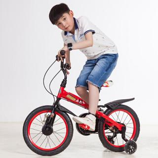 Disney 迪士尼 D161621 儿童自行车 红色米奇 16寸
