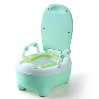 小哈伦 PZ018 婴儿坐便器 托帕绿