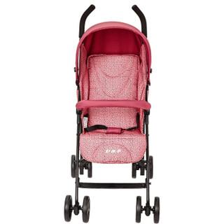 gb 好孩子 D400-P113RR 婴儿可坐可躺轻便伞车 (红色)