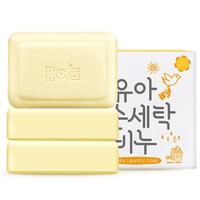 漂儿适 韩国原装进口 婴儿洗衣香皂 150gx3块茉莉香 *6件