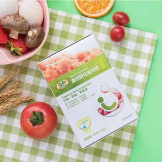 贝兜儿童零食 高钙舒化猪肉绒 宝宝辅食盒装营养肉粉松 60g(12小包)