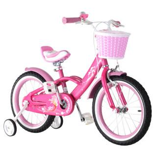 RoyalBaby 优贝 RB18G-3 儿童自行车 粉色 18寸