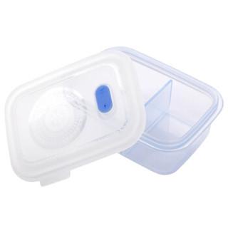 partita 变奏曲 儿童防摔饭盒 (单个装、700ml、水晶蓝)