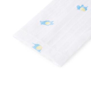 PurCotton 全棉时代 婴儿针织罗纹长袖套装 (小熊大象、1条装、80/48)