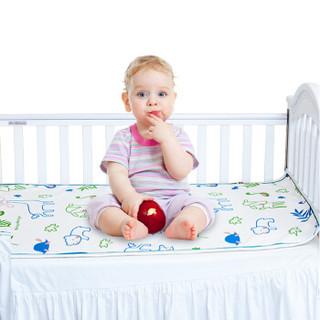 贝谷贝谷 婴儿凉席 (可折叠可机洗、欢乐园款、110*65cm)
