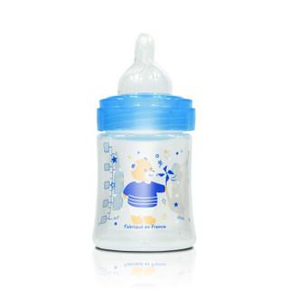 Dodie 自然质感 宽口径PP奶瓶 (宽口径、150ml、pp、蓝色)