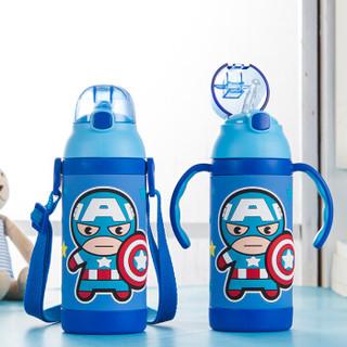Disney 迪士尼  HC83 宝宝吸管杯 380ml 蓝色