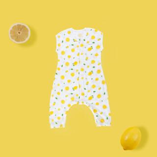 贝吻 B3057 婴儿分腿式睡袋 (柠檬、73码)