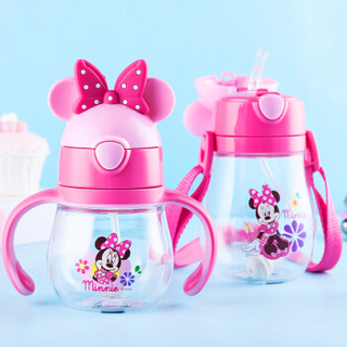 Disney 迪士尼 宝宝学饮杯 (470ml、粉色米妮)