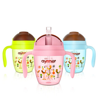 aynmer AYM-9224 儿童学饮杯 (210ml、蓝色)