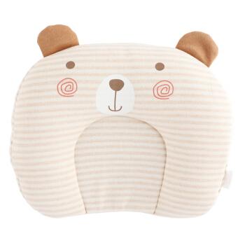 Wellber 威尔贝鲁 婴儿定型枕 (小熊款)