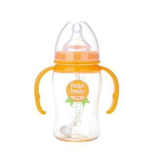 m&n bear 咪呢小熊 婴儿奶瓶套装 (200ml+300ml、宽口径、PES)