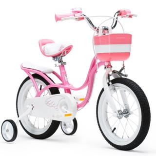 RoyalBaby 优贝 儿童自行车 12寸 (粉色)