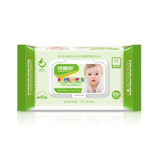 Cutebaby 可爱多 婴儿柔湿巾 (80片*24包)