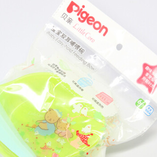 pigeon 贝亲 Little Coro DA94 宝宝双耳哺喂碗 (绿色)