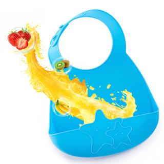 Linmy 林麦 MWDDL-810 婴儿围嘴口水巾 (蓝色)