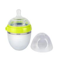 comotomo 宽口径硅胶奶瓶 (150ml、宽口径、硅胶)