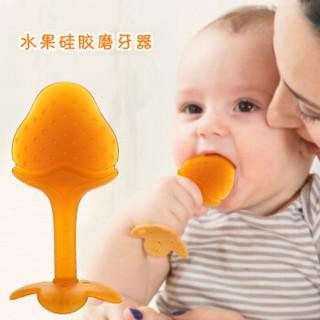 柳濑 LB6817 婴儿纳米银硅胶安抚奶嘴 (草莓)