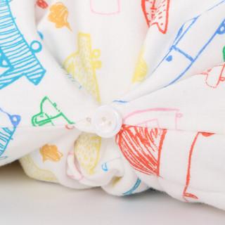 misslele 米乐鱼 宝宝睡袋 (蜡笔车、90*56cm)