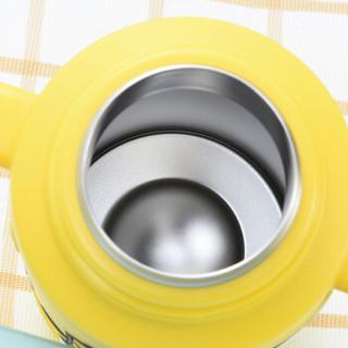 MINION MADE 小黄人 宝宝真空保温水壶套装 送杯绳 (400ML、蓝色)