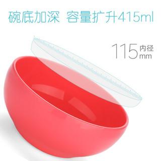 柳濑 LB7515 婴儿辅食碗 (红色)