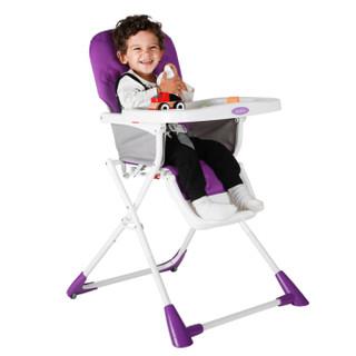 JUSTIN 佳田 H300 iDea 便折叠儿童餐椅 (紫色)