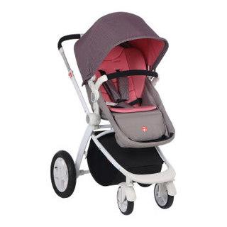 gb 好孩子  GB08-W-N313PP 高景观婴儿推车 (粉红色)