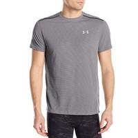 限L码:UNDER ARMOUR 安德玛 Threadborne Streaker 男子短袖T恤