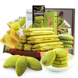Franzzi 法丽兹 夹心曲奇饼干 大礼包 礼品袋版 (932g、1、混合口味)