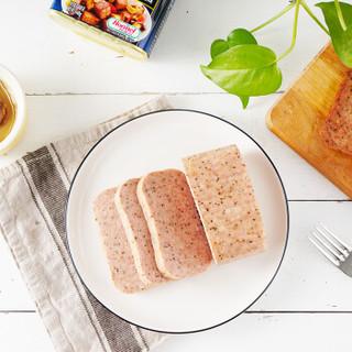 SPAM 世棒 黑胡椒味午餐肉罐头 340g