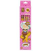 SUNWOOD 三木 XCM0027 铅笔 (粉色、12支装、木质)