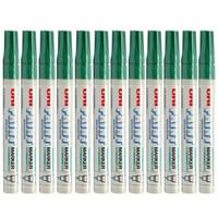 Uni 三菱 PX-20 中字油漆笔 (可用于汽车补漆) (绿色、2.2-2.8mm、12支装)