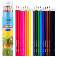 限地区:deli 得力   7013 绘画彩色铅笔 18色 桶装