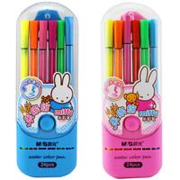 M&G 晨光 FCP90146 米菲细杆可水洗水彩笔 24色/盒