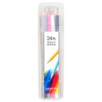 deli 得力 6532 彩色铅笔 24色