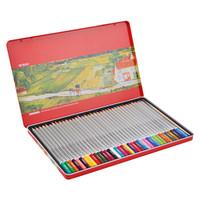M&G 晨光 AWPQ1903 铁盒六角水溶性彩色铅笔 36色/盒