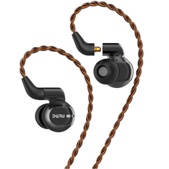 DUNU 达音科 DK-4001 极 入耳式耳机 (圈铁、五单元)