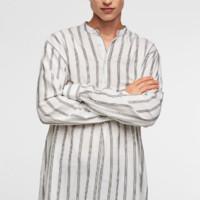 ZARA 07545319710 男士竖条纹衬衫