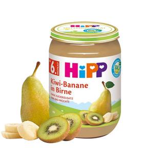 HiPP 喜宝 有机猕猴桃香蕉梨果泥 6个月以上宝宝 190g*10件