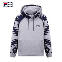 FILA Staple F11M819207F 中性款卫衣 (XL、花灰-MG)