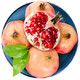京东生鲜 突尼斯软籽石榴 4粒 单果300g以上 *5件 +凑单品 100.9元(双重优惠)