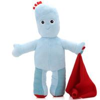 花园宝宝毛绒玩具玩偶 公仔立姿依古比古45厘米 *2件