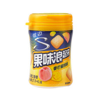 Stride 炫迈 果味浪起来 口香糖 (37.8g、香芒蜜桃味)