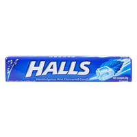 HALLS 荷氏 薄荷糖 (34g、特强薄荷味)