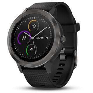 GARMIN 佳明 vivoactive 3 智能手表 遂空黑