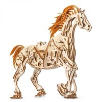 UGEARS 木质机械传动模型 仿生机械马